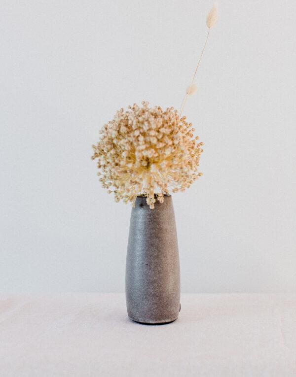 Palmy bud vase