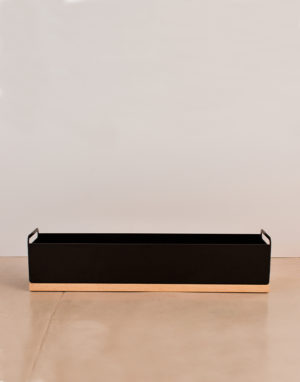 Palmy herb box black