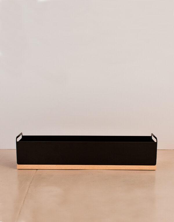 Palmy herb box black