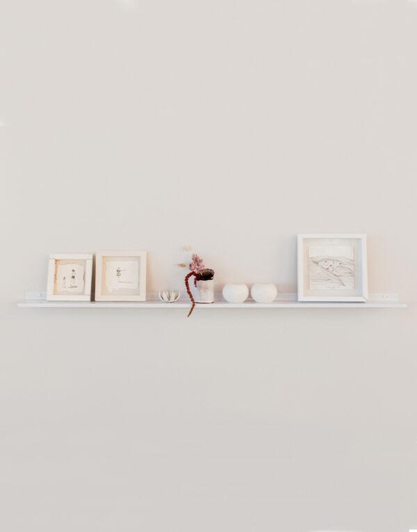 Original gallery shelf - white