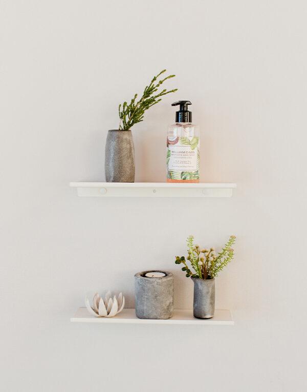 Small original gallery shelf