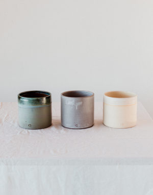 Palmy smaller ceramic planters