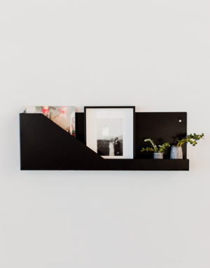 Palmy reading shelf