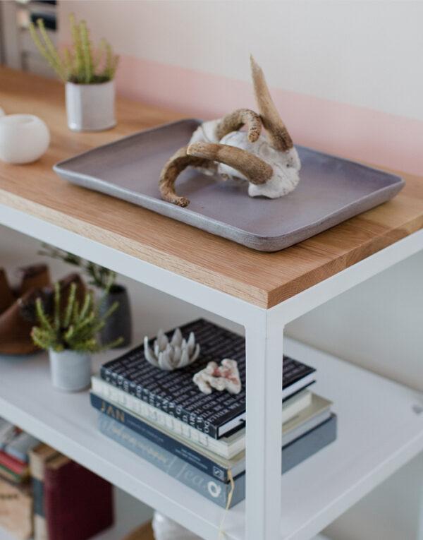 Serve in style platter decor ceramics