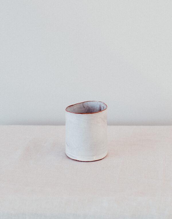 Palmy ceramic hand-built tumbler
