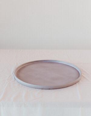 Palmy ceramic platter