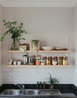 The Modern Kitchen shelf