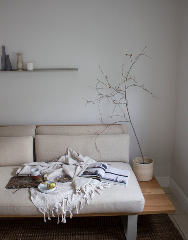 Slow life couch