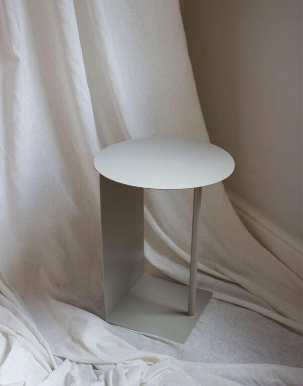 Simple steel table