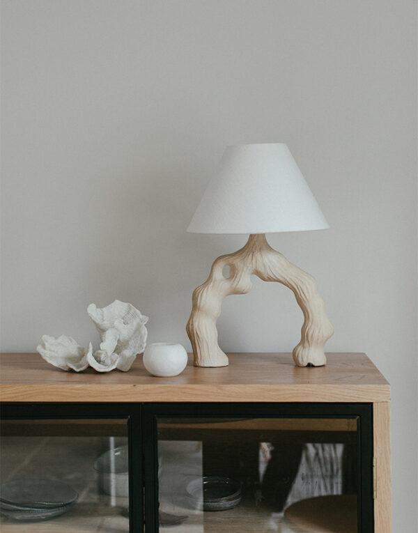 Sculptural Boabab Lamp
