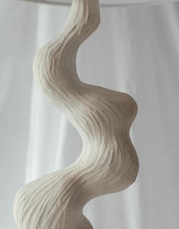 Sculptural River Lamp